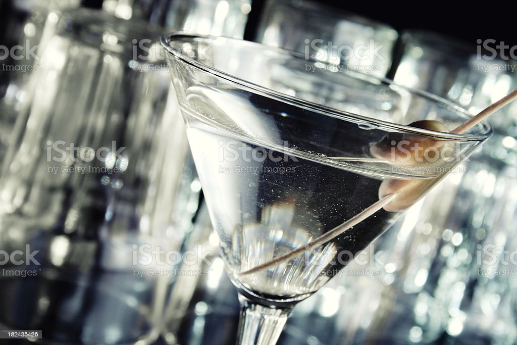 Dry martini royalty-free stock photo