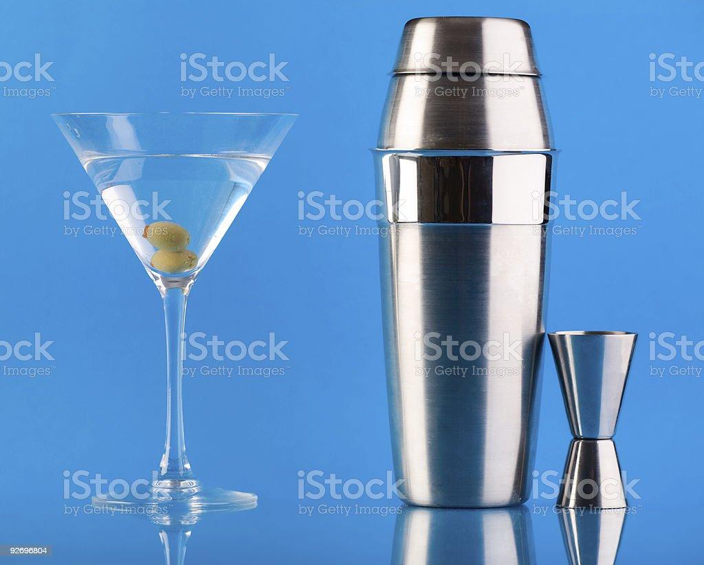 Dry Martini stock photo