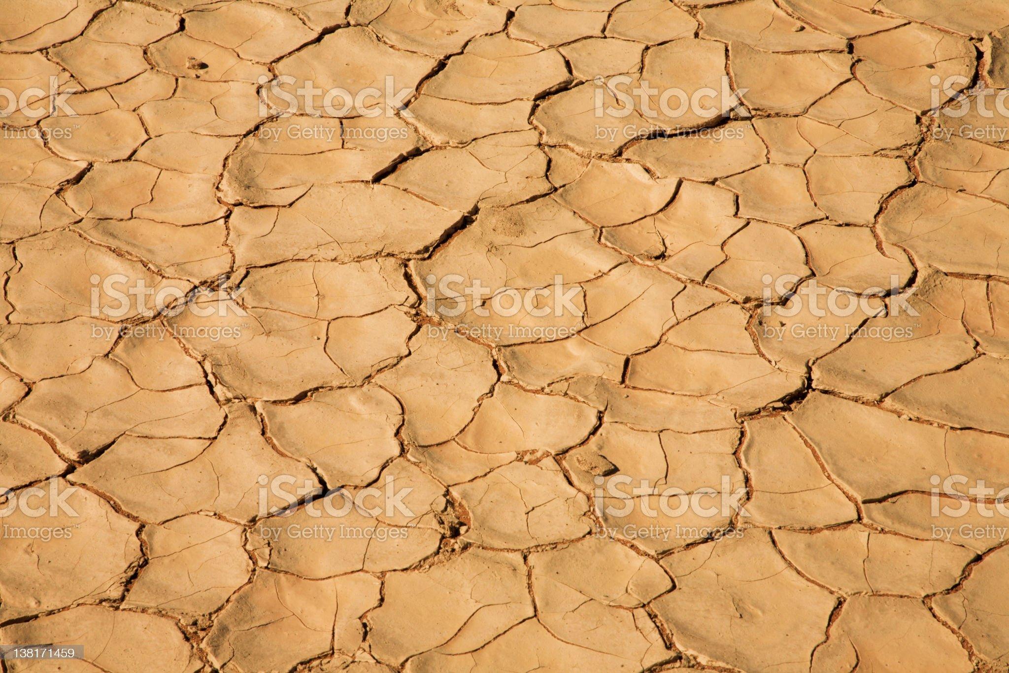 Dry Namib desert textures royalty-free stock photo