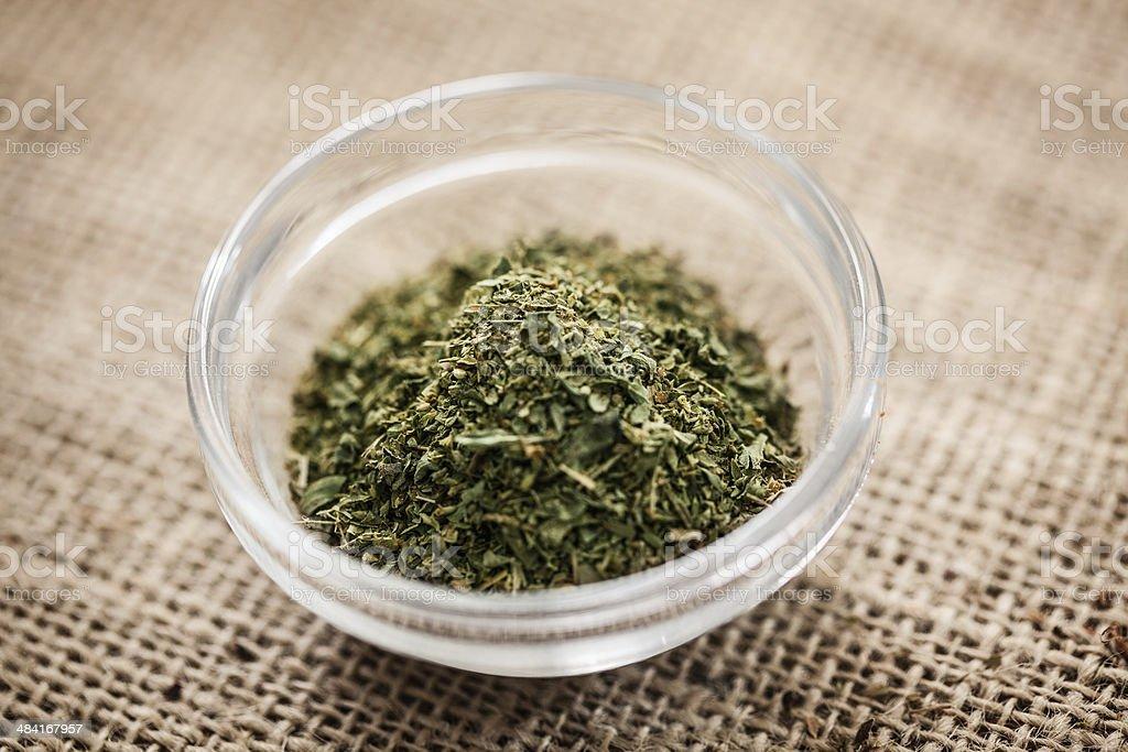 Dry Oregano stock photo