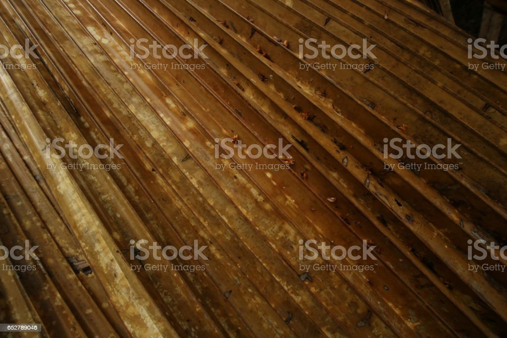 Dry Palm Leaves, Vallée de Mai Nature Reserve, Praslin Island, Seychelles, Indian Ocean, Africa stock photo