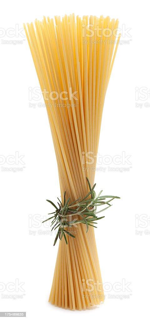 Dry pasta royalty-free stock photo