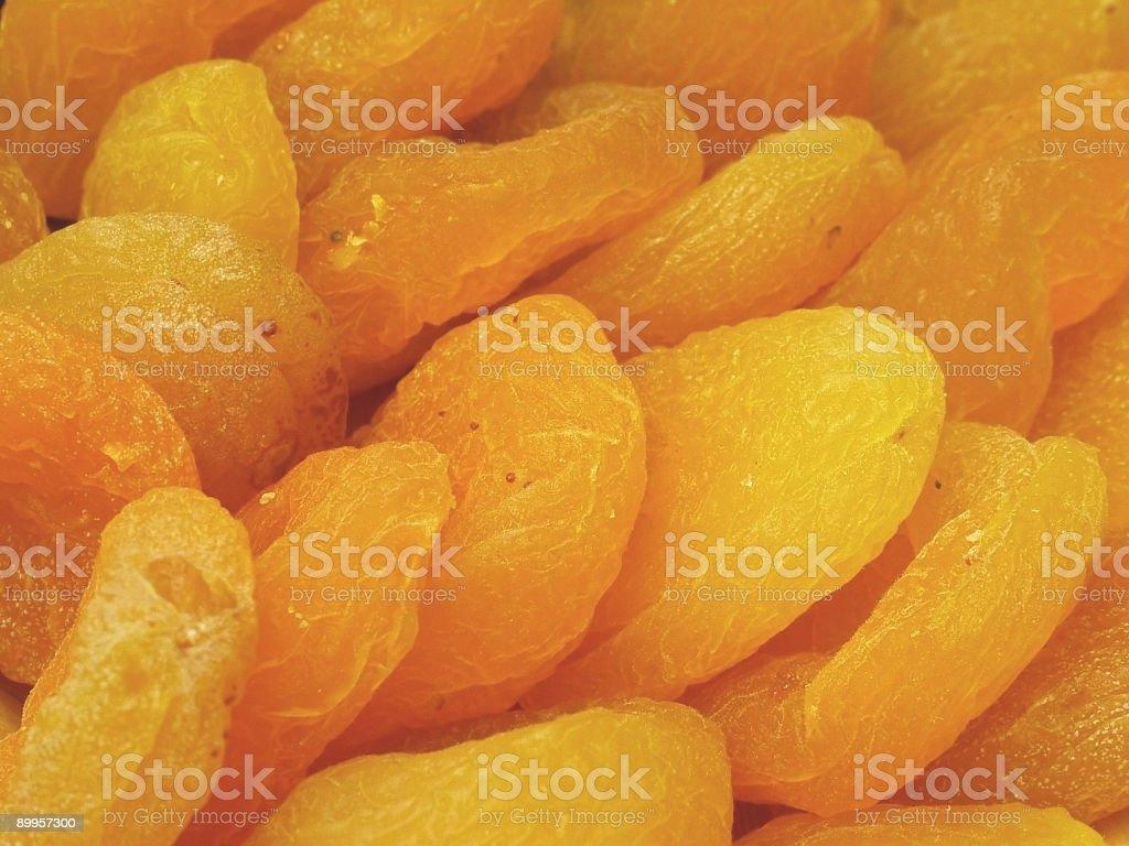 Dry peach royalty-free stock photo