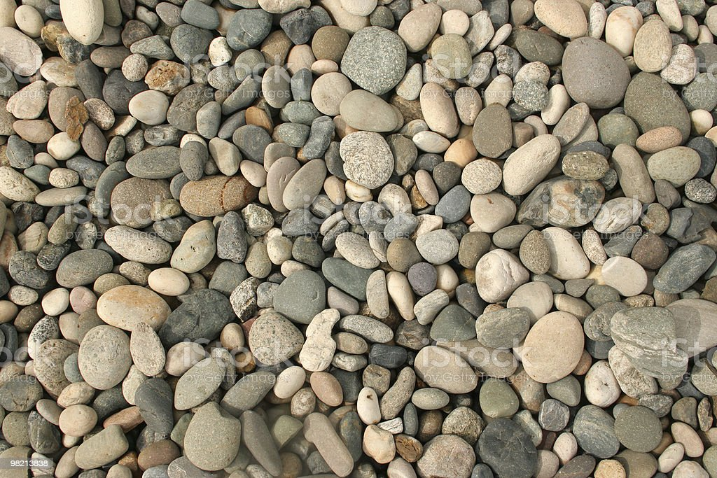 Dry Pebbles royalty-free stock photo