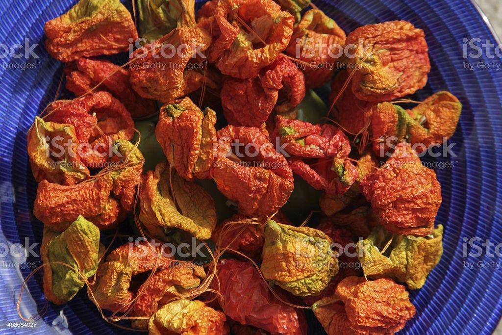 Dry Pepper stock photo