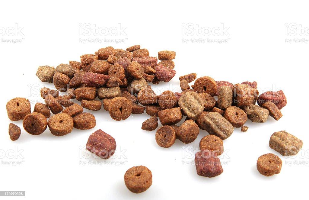 Dry Pet Food royalty-free stock photo