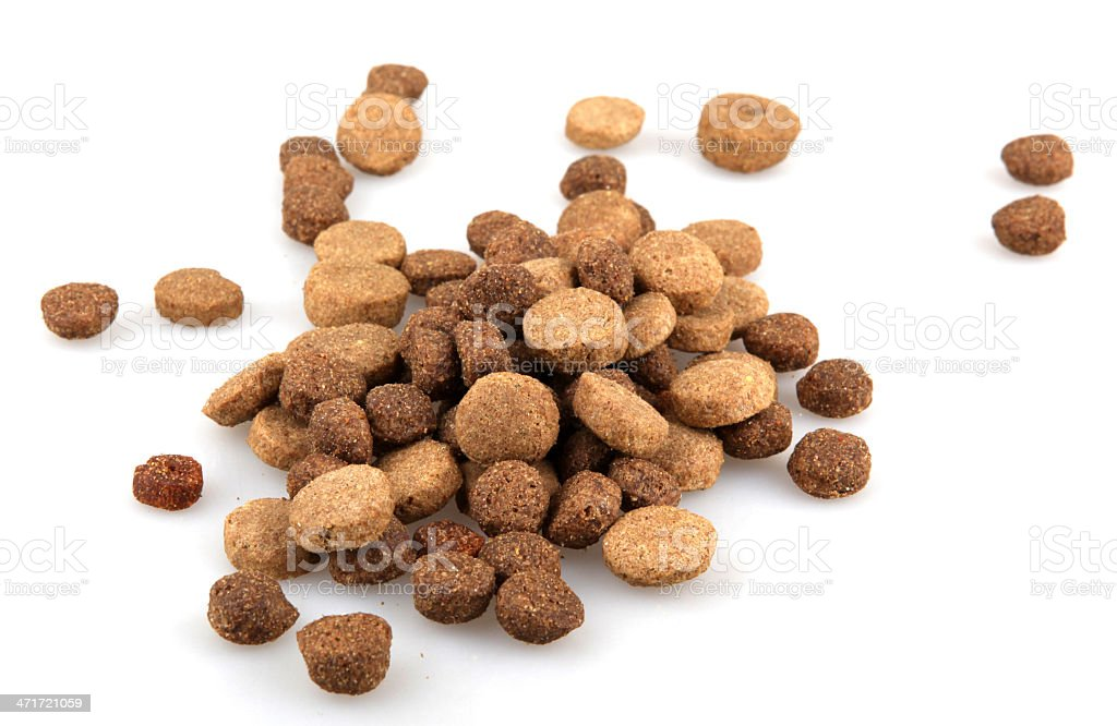 Dry Pet Food royalty-free stock photo