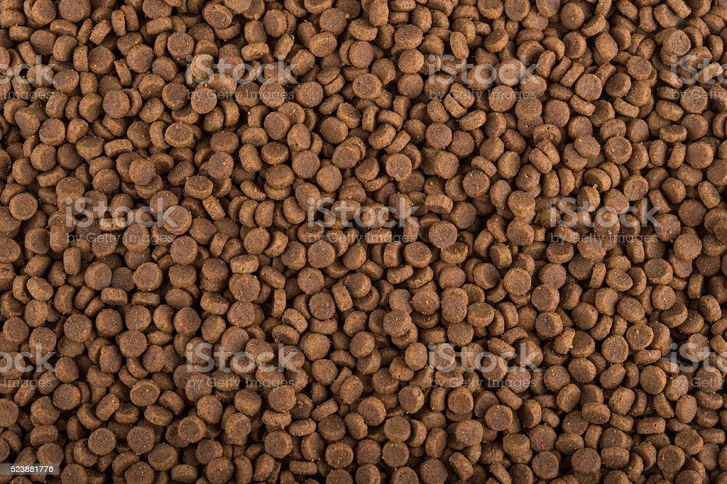 Dry Pet Food stock photo