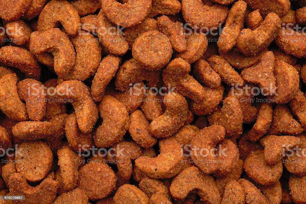 Dry pet food. stock photo