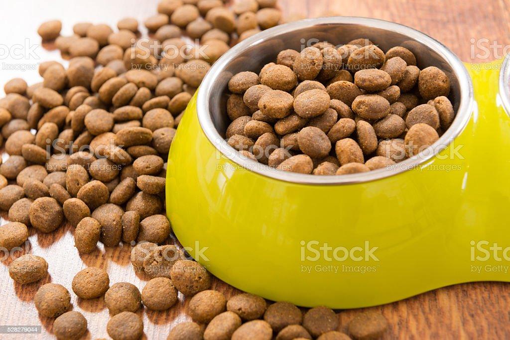 Dry pet's food stock photo