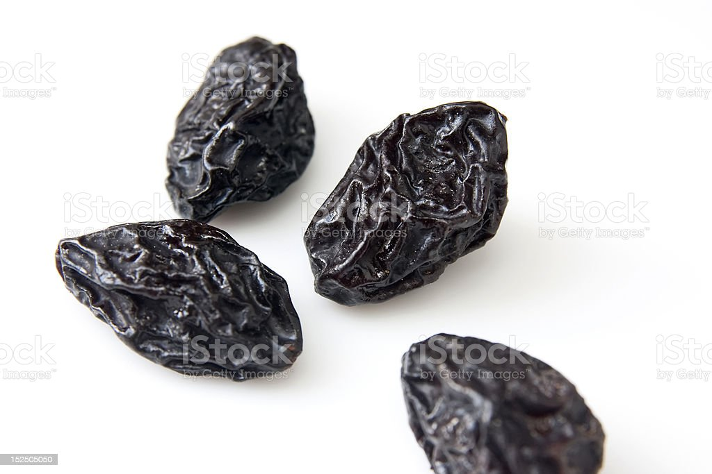 dry plums royalty-free stock photo
