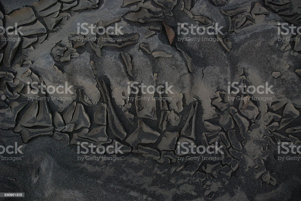 Dry Sand Bar royalty-free stock photo
