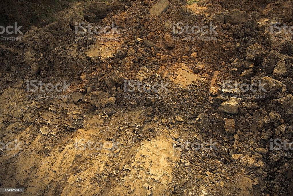 Dry Soil royalty-free stock photo