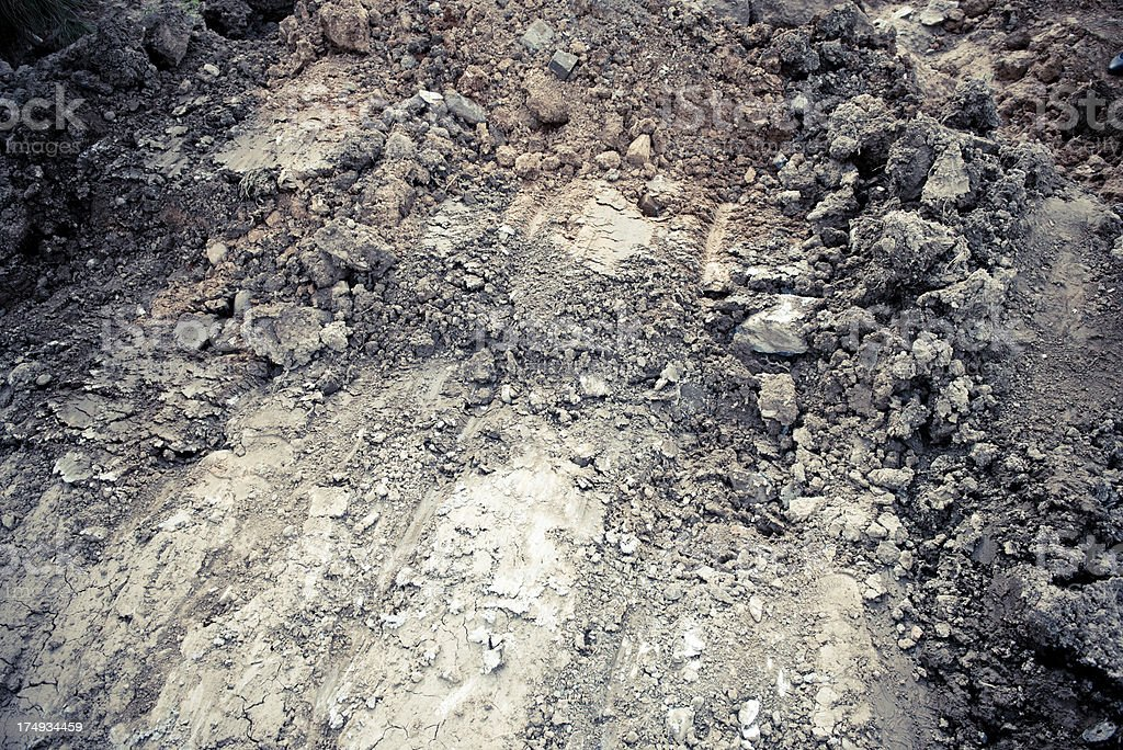 Dry Soil royalty-free stock photo