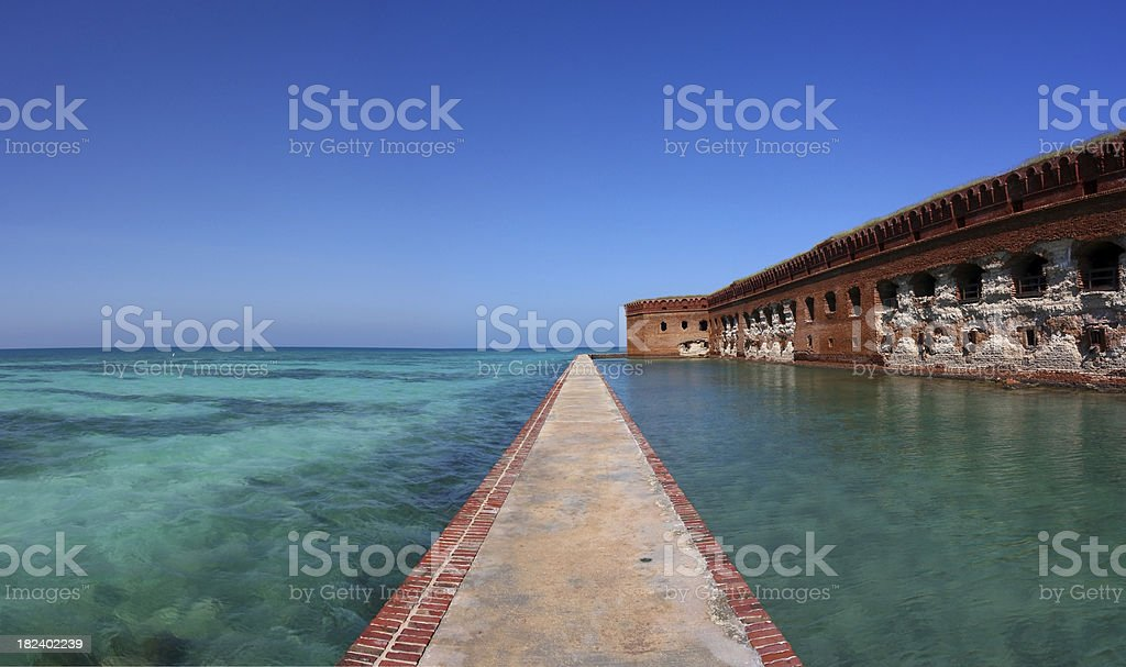Dry Tortugas National Park stock photo