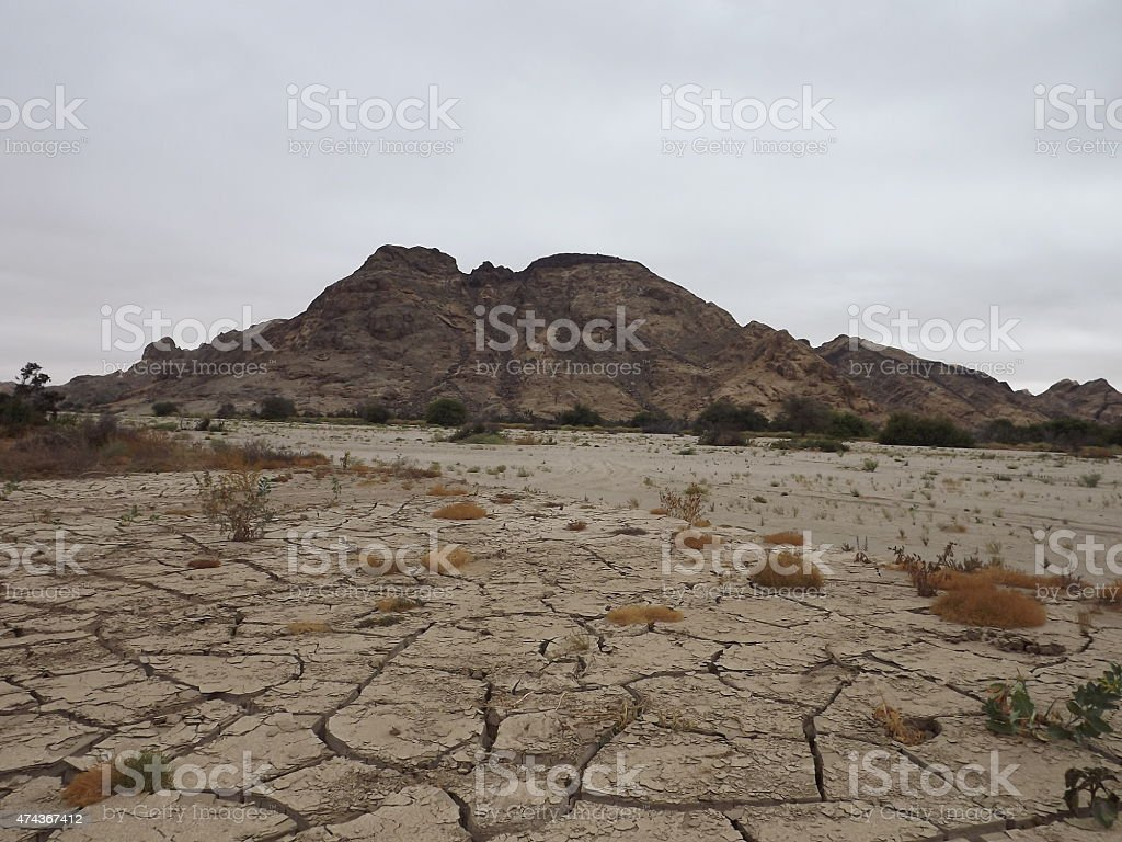 Dry_Riverbed stock photo