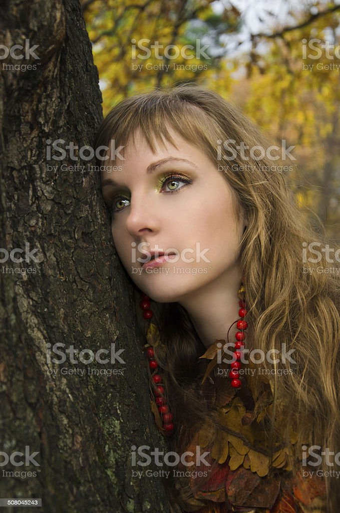 Dryad foto de stock royalty-free