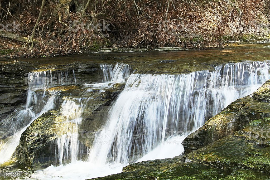 Drybrook Creek Cascade royalty-free stock photo