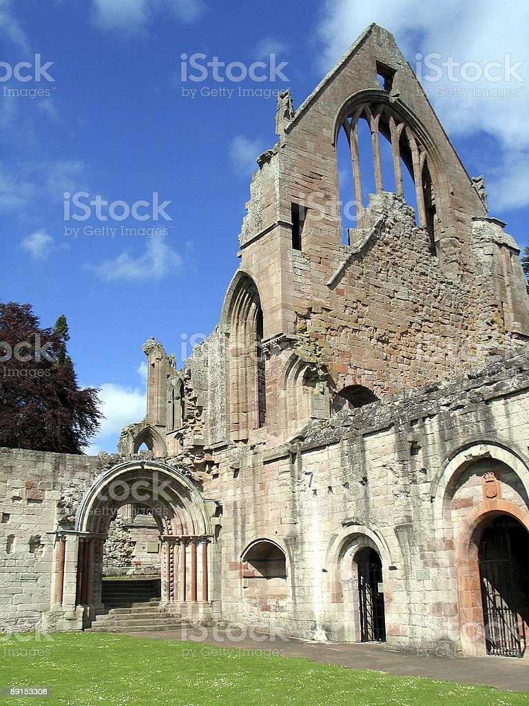 Dryburgh Abbey royalty-free stock photo