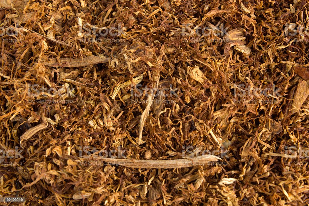 Dryed tobacco leave texture background stock photo