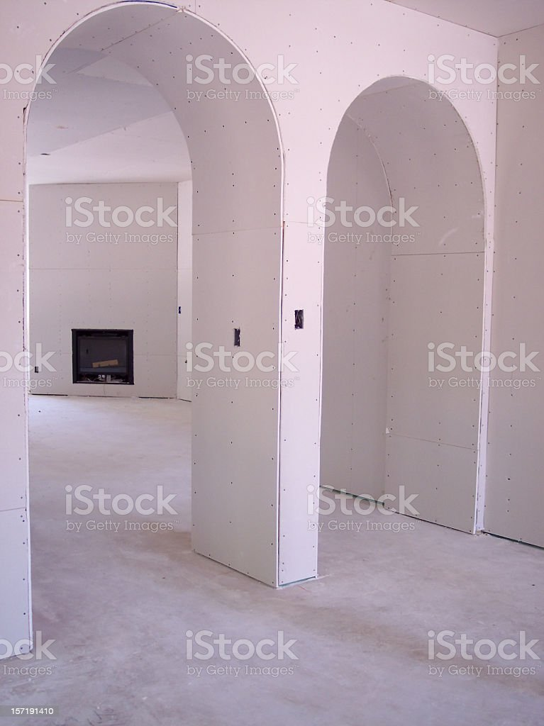 Drywall Arches royalty-free stock photo
