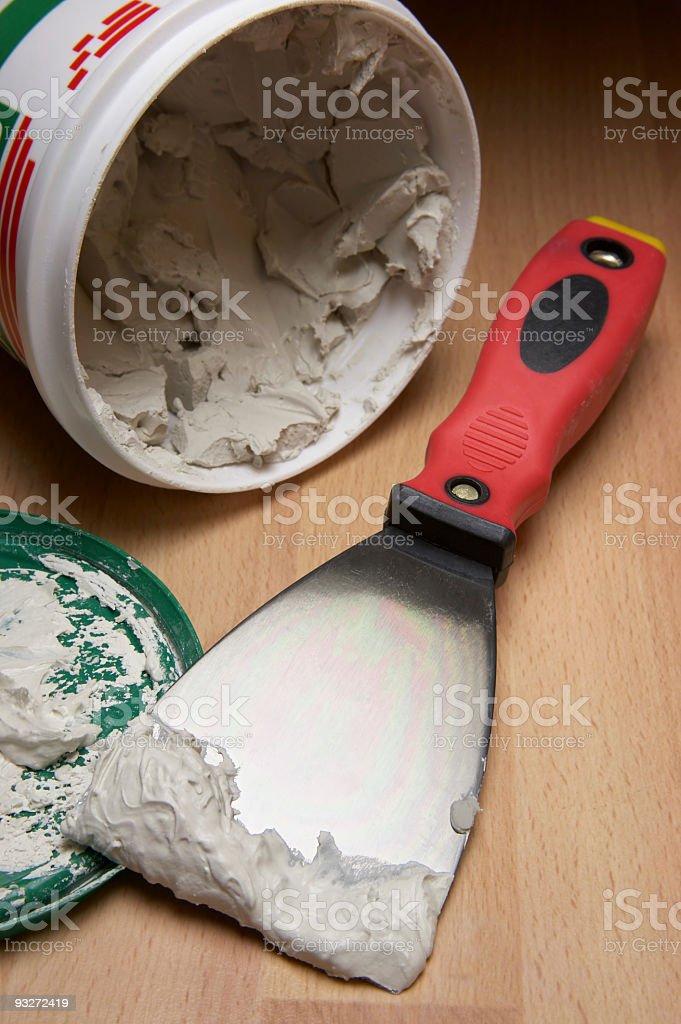 DIY - Drywall Repair stock photo