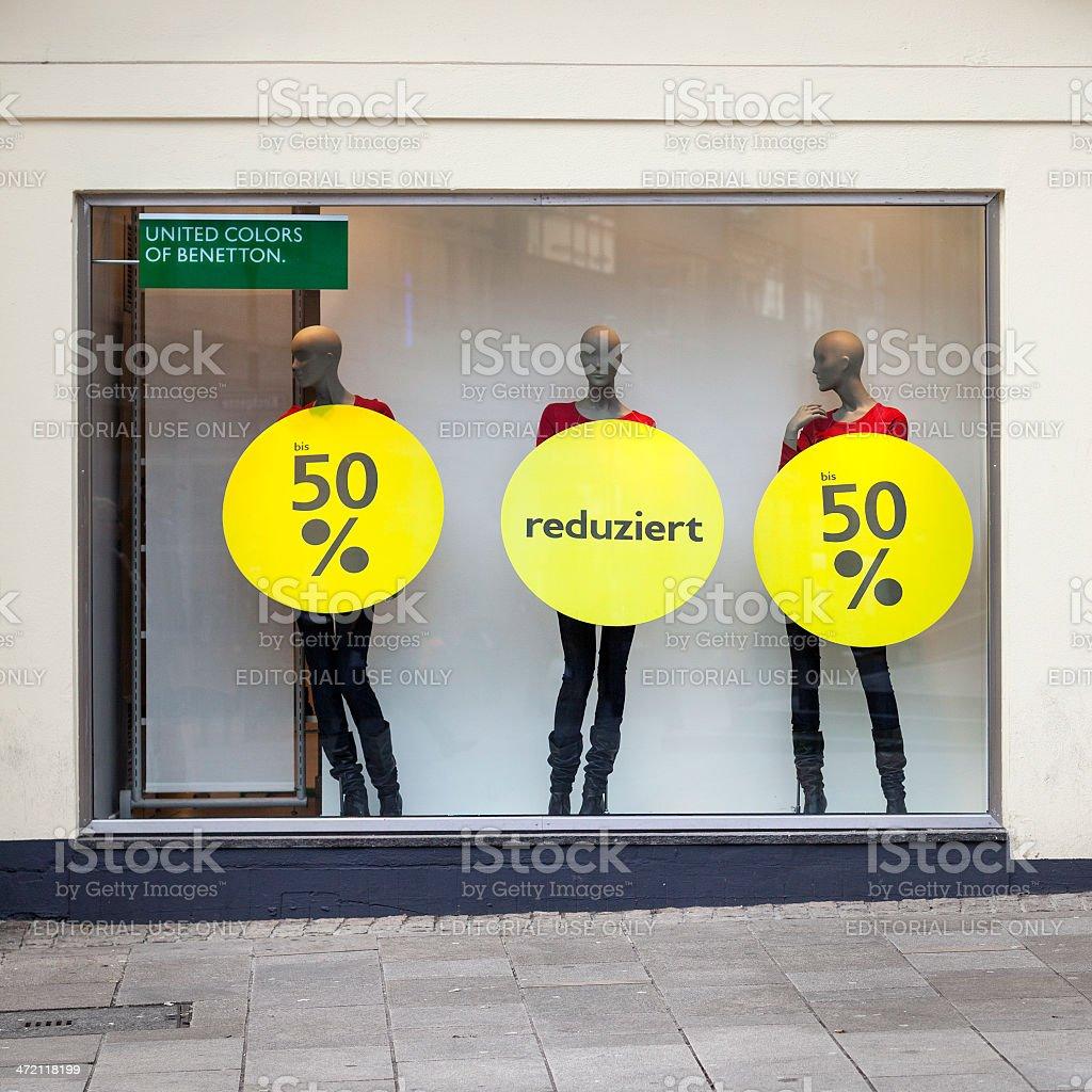 Dsiplay dummies stock photo