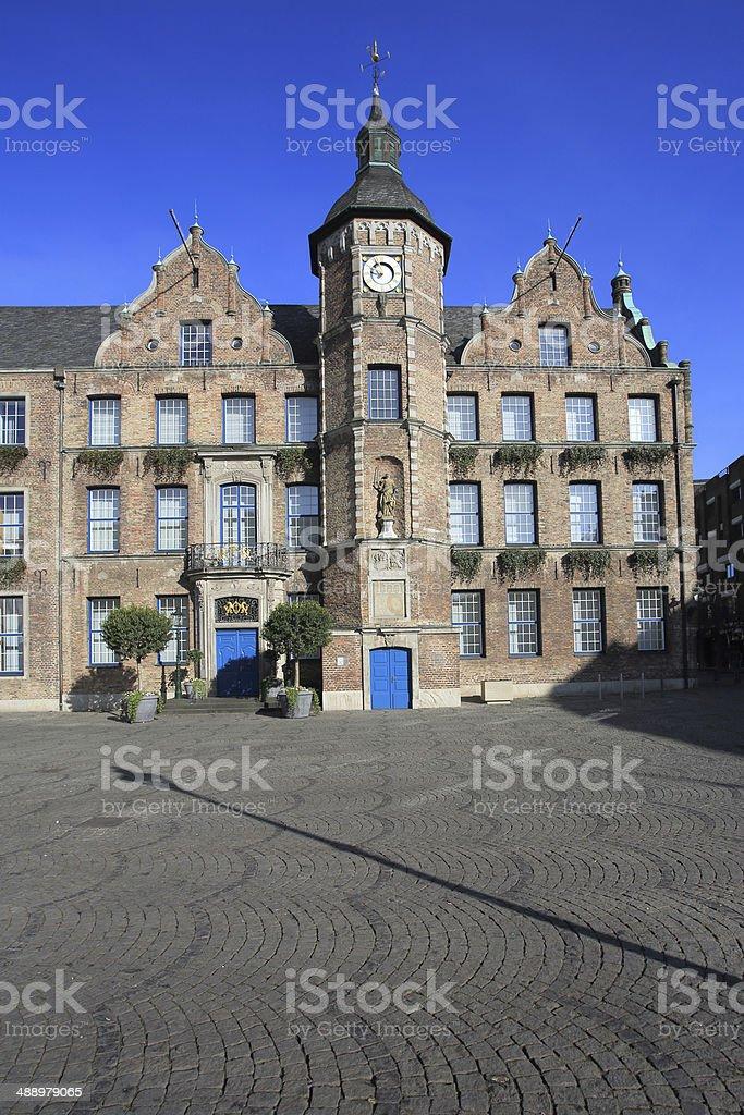 D?sseldorf Town Hall stock photo
