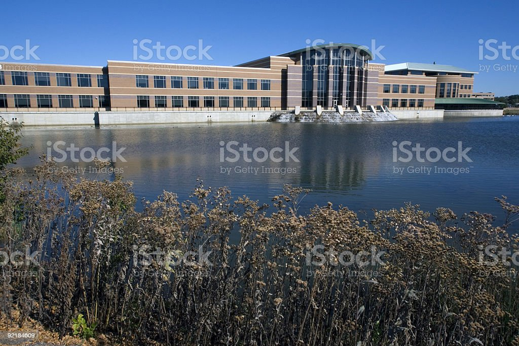 Du Page County administration building royalty-free stock photo