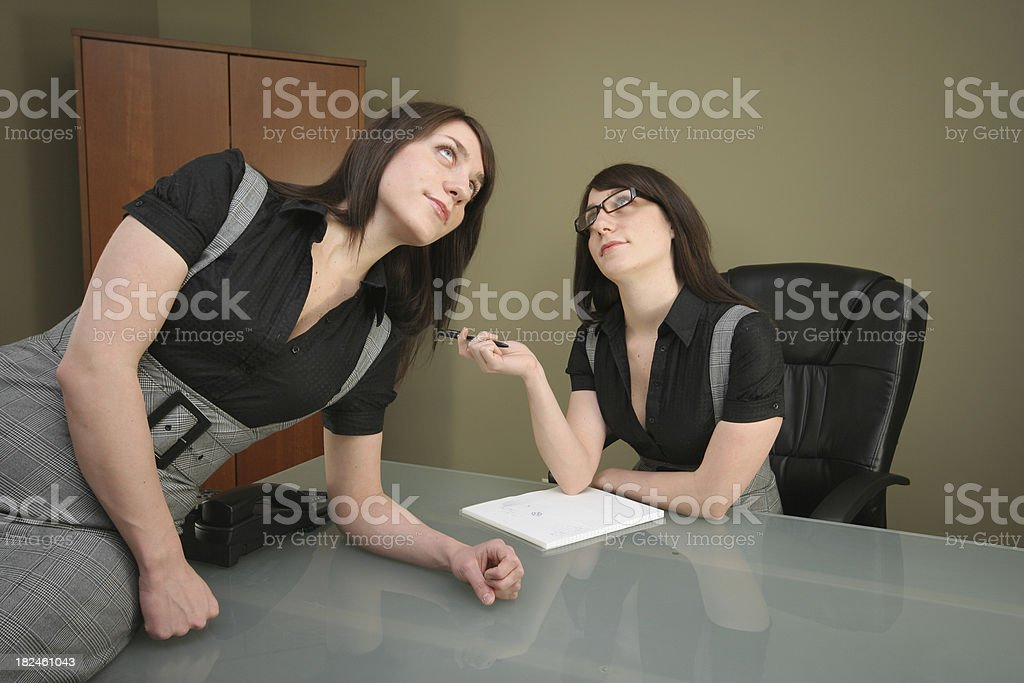Dual Frustration royalty-free stock photo