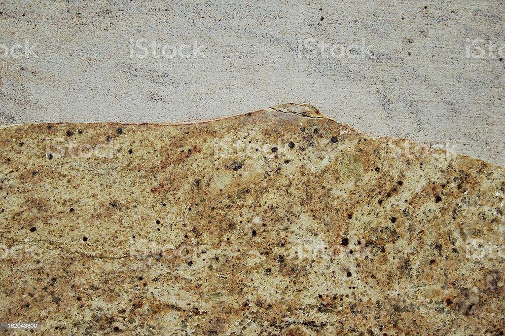 Dual granite stock photo