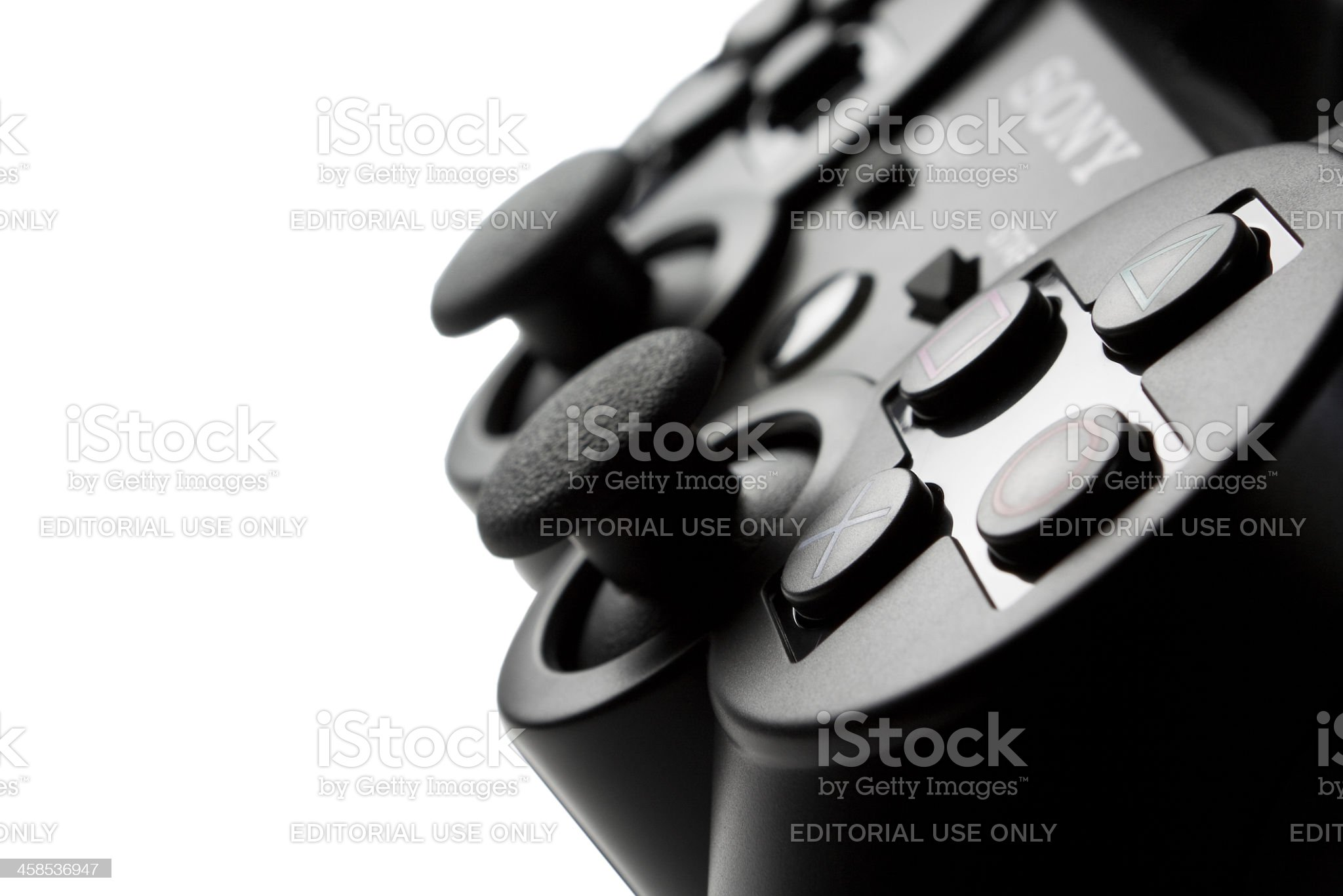 PS3 Dual Shock Controller royalty-free stock photo