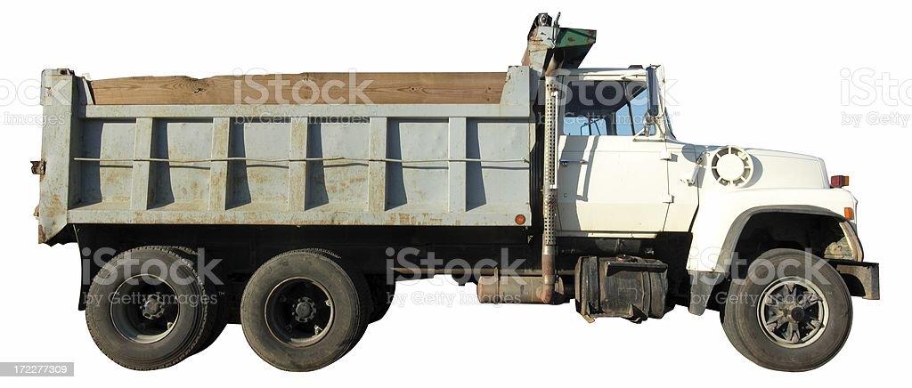 Dual-Axle Dump Truck royalty-free stock photo