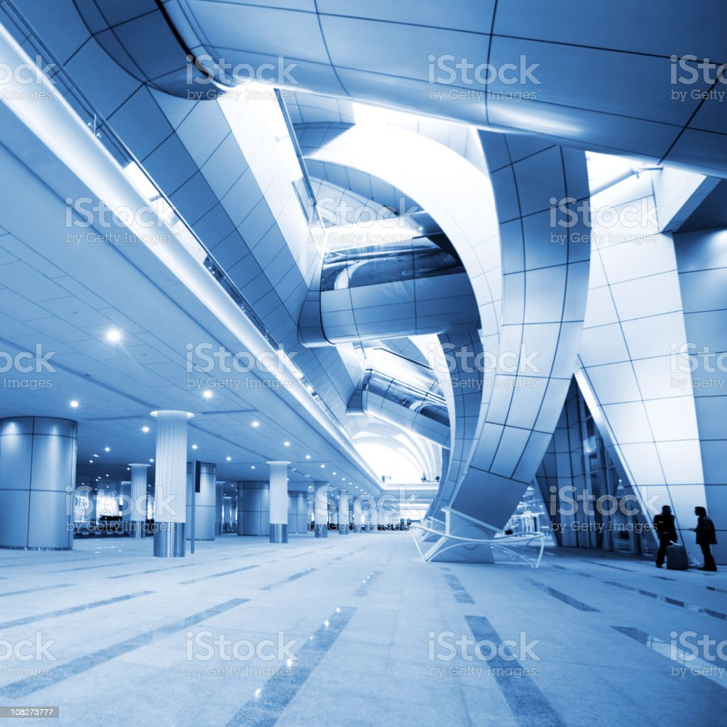Dubai Airport royalty-free stock photo