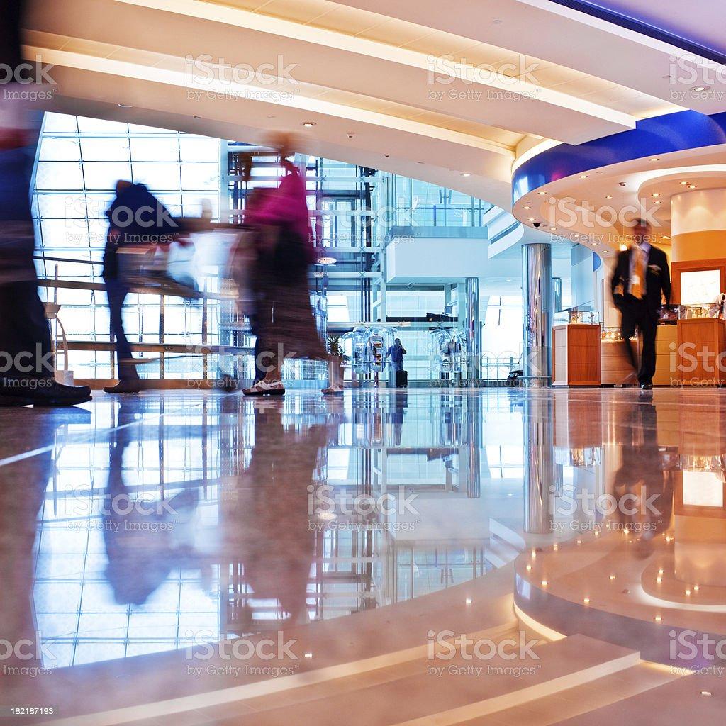 Dubai Airport stock photo