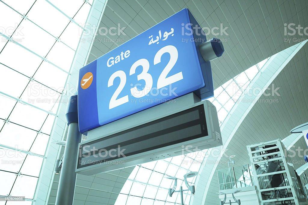 Dubai Airport - XLarge stock photo