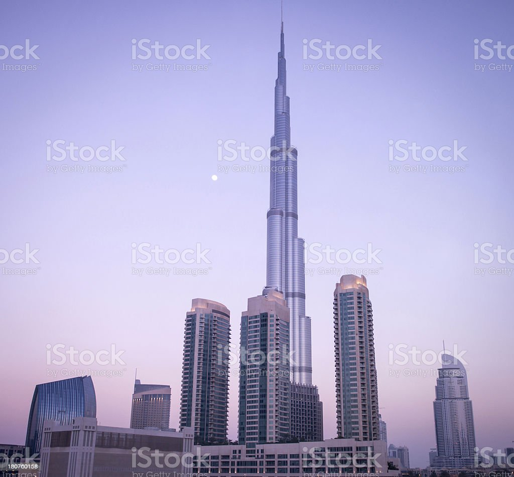Dubai City royalty-free stock photo