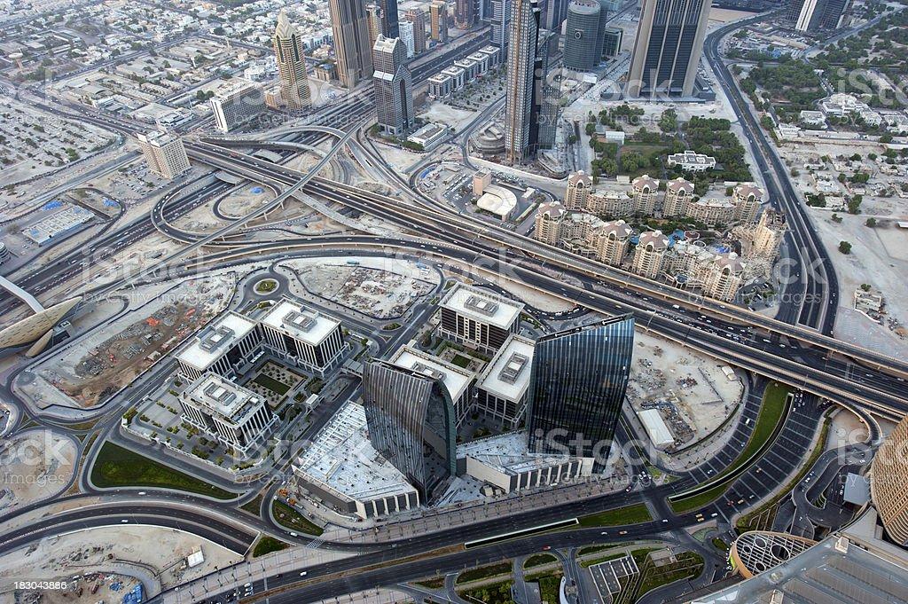 Dubai city royalty-free stock photo