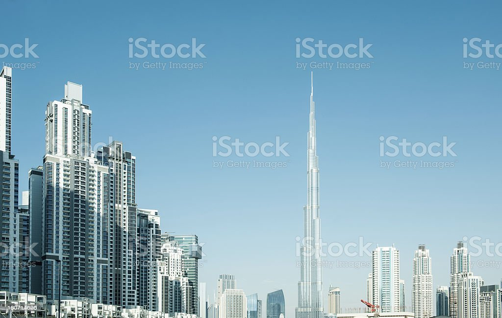 Dubai Cityscape royalty-free stock photo