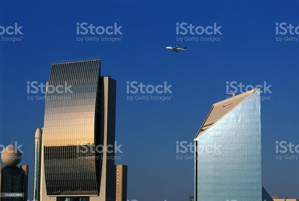 Dubai downtown detail royalty-free stock photo