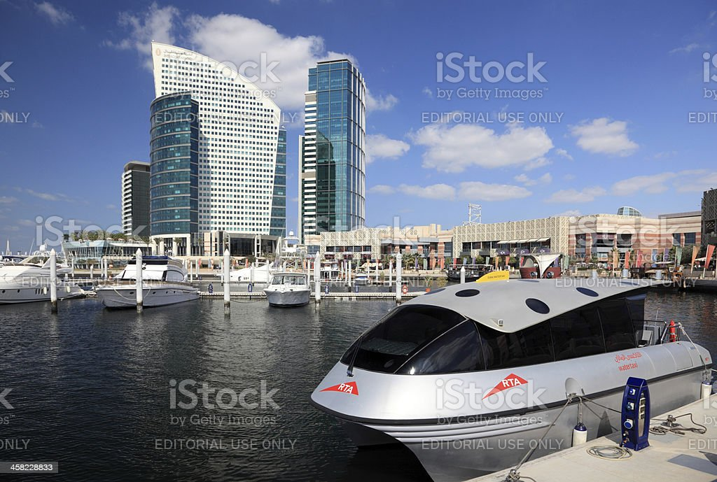 Dubai Festival City stock photo