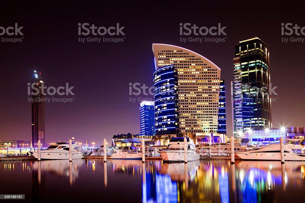 Dubai Festival City stock photo