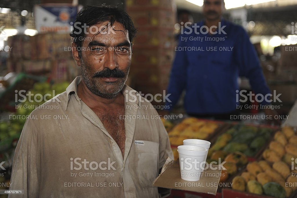 Dubai fruit and vegetable market royalty-free stock photo