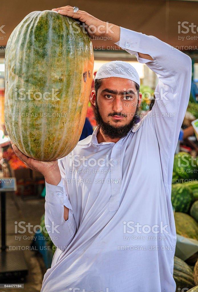 Dubai Fruit and Vegetable Market stock photo
