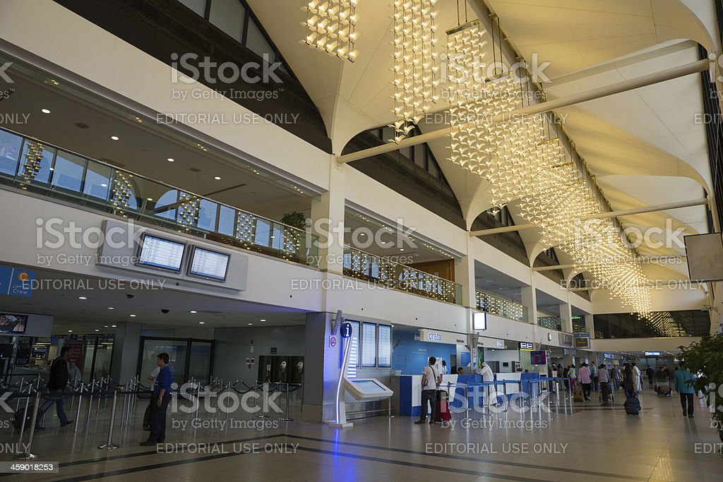Dubai International Airport Terminal 1 royalty-free stock photo