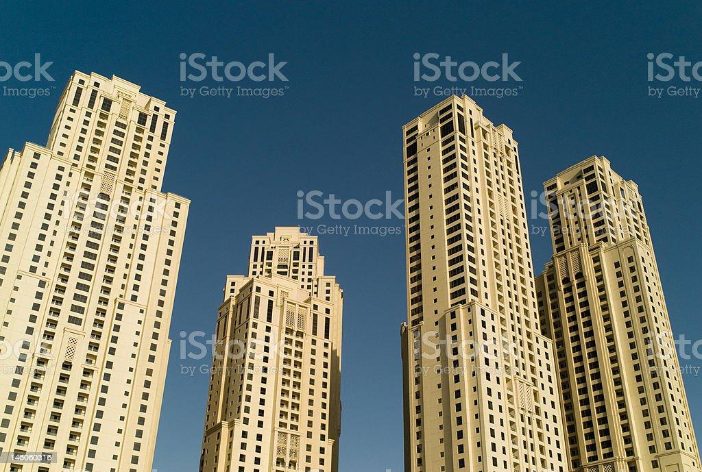 Dubai JBR royalty-free stock photo