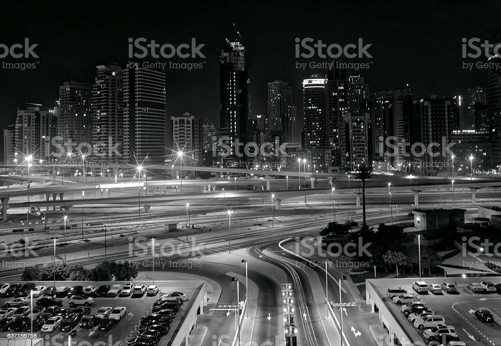 Dubai JLT stock photo