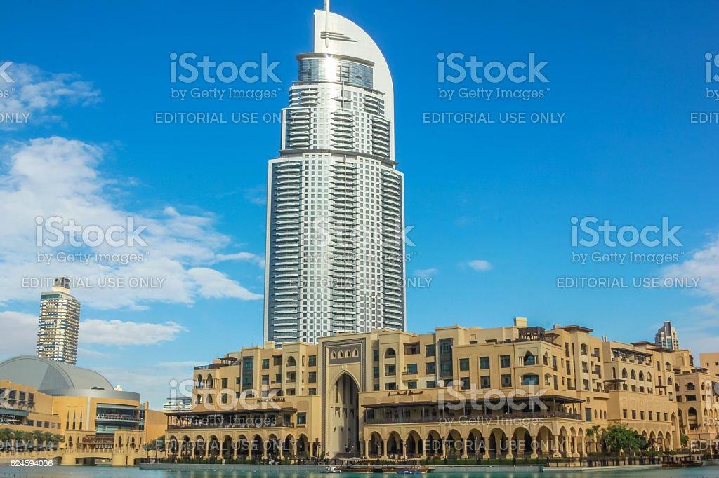 Dubai Mall area stock photo