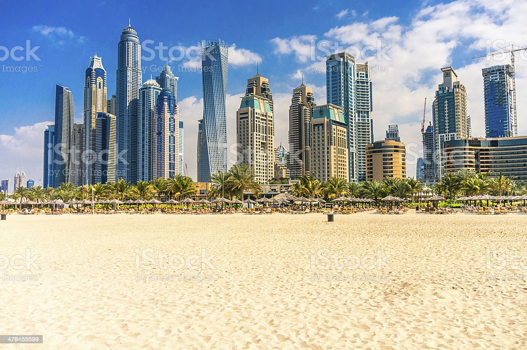 Dubai Marina. stock photo