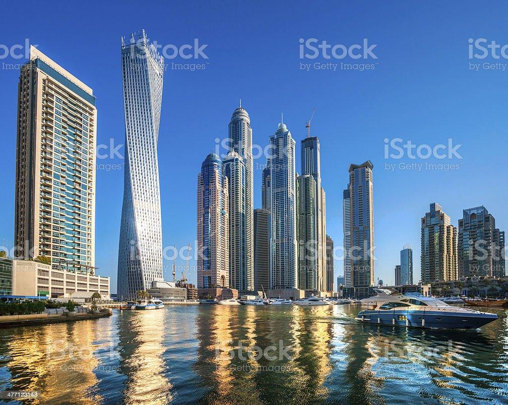 Dubai Marina, UAE. stock photo